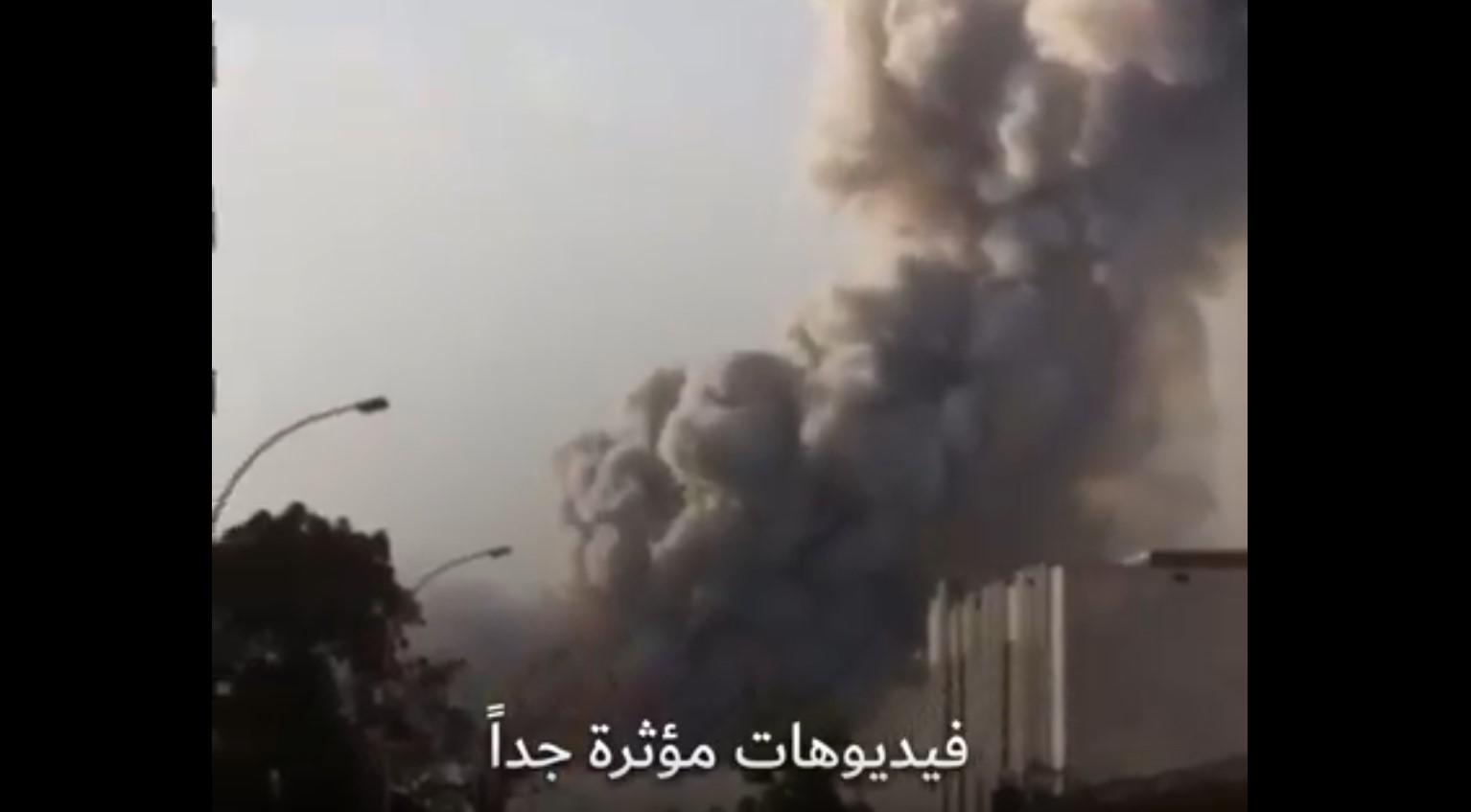روبرتاج شامل عن الوضع الكارثي في بيروت