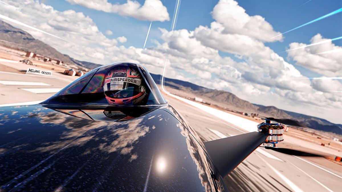 """سيارة سباق طائرة  تقلب مفاهيم الـ""""فورمولا 1″(فيديو)"""