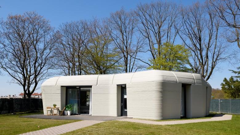 الأول من نوعه في هولندا/ منزل شيّد بالطباعة ثلاثية الأبعاد