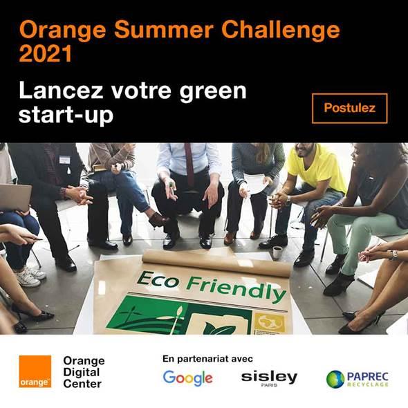 الدورة الحادية عشرة  للمسابقة السنويةOrange Summer Challenge
