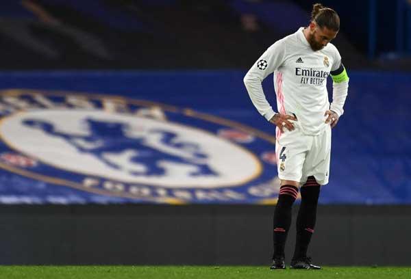 إصابة قائد الفريق راموس تصدم ريال مدريد