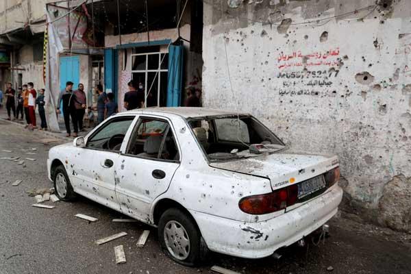 بينهم قيادي من حماس /قتلى في ضربة جوية إسرائيلية على قطاع غزة