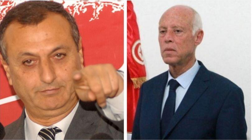 رسالة مفتوحة من الشابي إلى قيس سعيد حول مشاركة تونس في مناورات إلى جانب إسرائيل