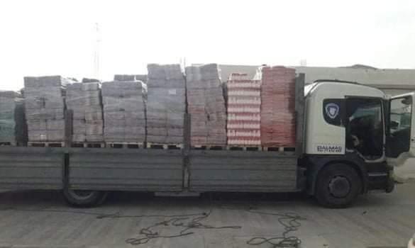 مارث / حجز شاحنة ثقيلة وضبط مبلغ مالي مهرب(صور)