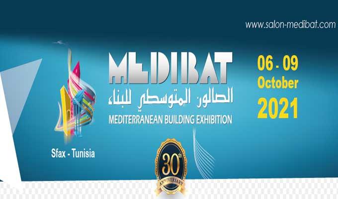 """المعرض المتوسطي للبناء """"ميديبات2021 """"..دورة جديدة واحتفال بذكرى التأسيس"""