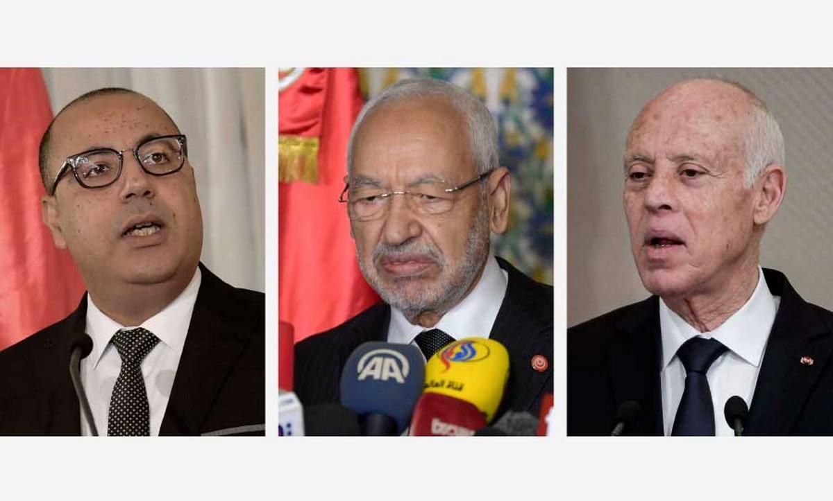 الباروماتر السياسي /ثقة التونسيين في الرئاسات الثلاثة في مهب الريح