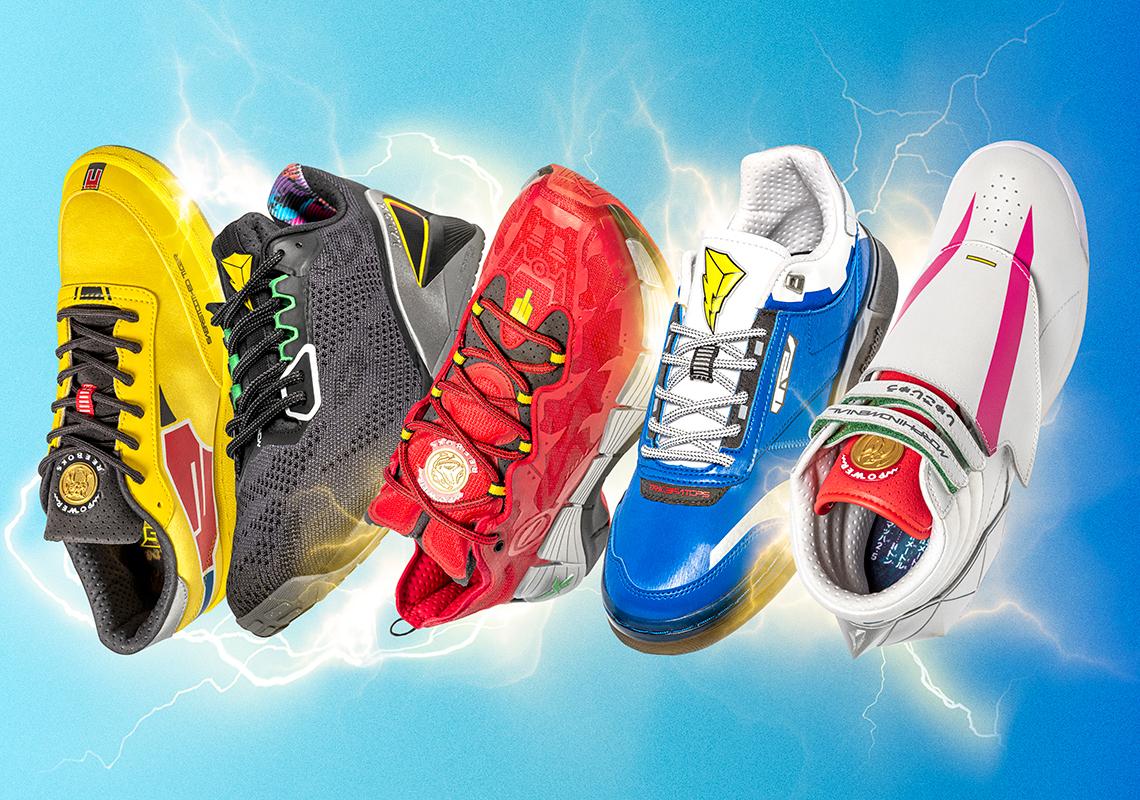 REEBOK تطلق مجموعة أحذية باور رينجرز المستوحاة من حقبة التسعينيات