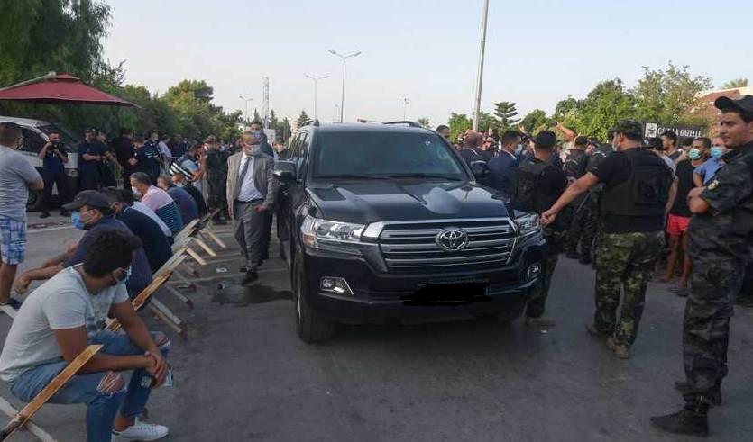 الغنوشي يغادر ساحة مجلس النواب