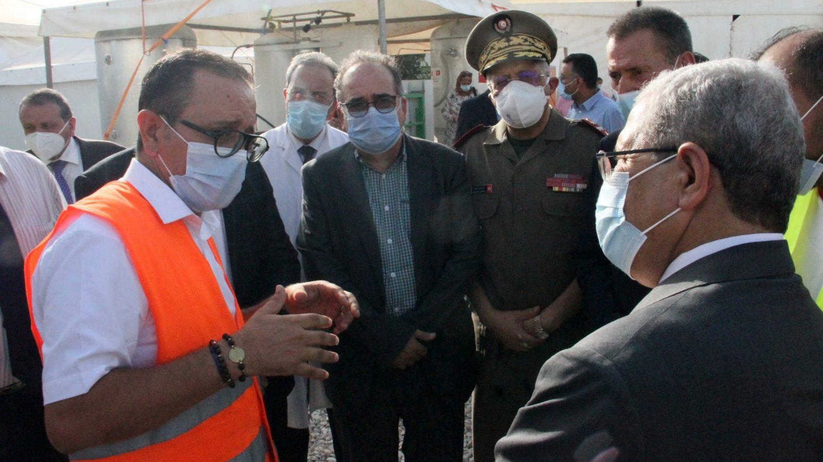 تركيز المستشفى الميداني بمنوبة (صور)