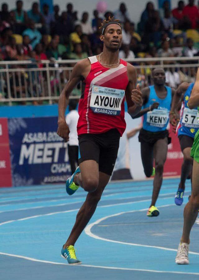 أولمبياد طوكيو /العداء عبد السلام العيوني يتأهل الى نصف نهائي الـ800 متر