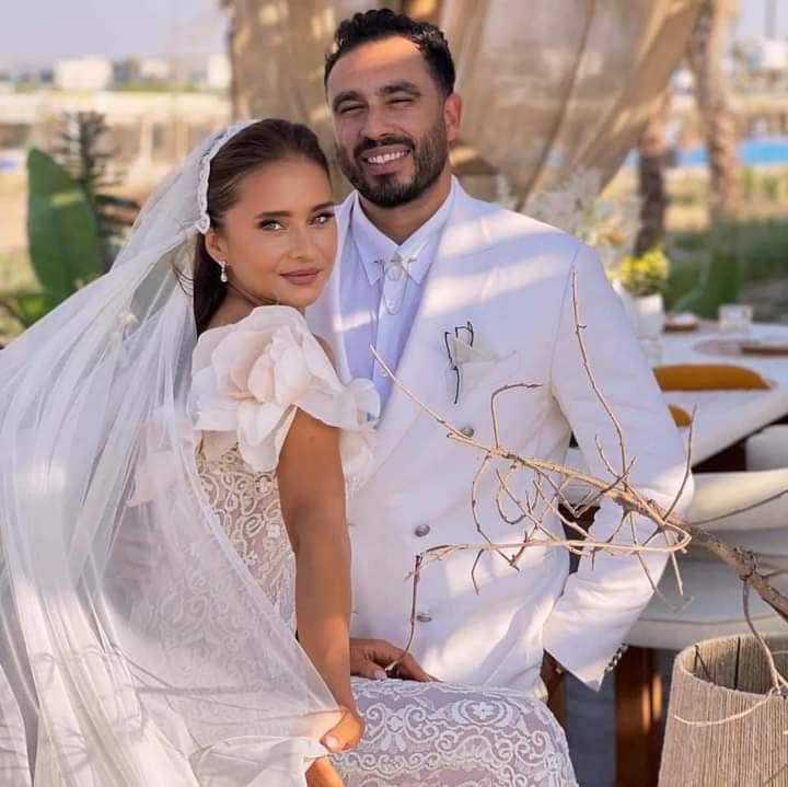 نيللي كريم عن زواجها  : مزحة تحولت إلى زواج