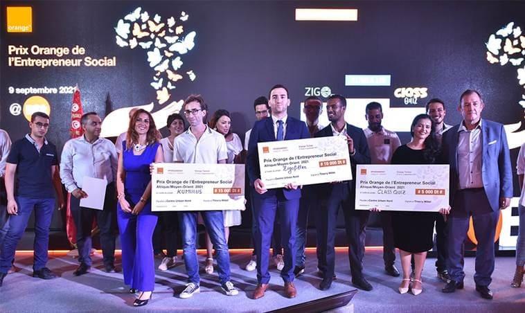 أورنج تعلن عن الفائزين في المسابقة الوطنية للمشاريع الاجتماعية لمنطقة إفريقيا والشرق الأوسط