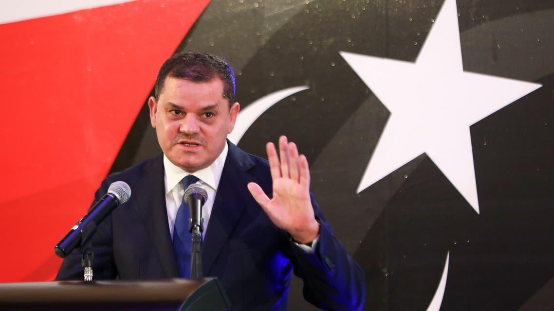 يشهد مظاهرة تطالب باسقاط الحكومة /الدبيبة يصل الى ميدان الشهداء