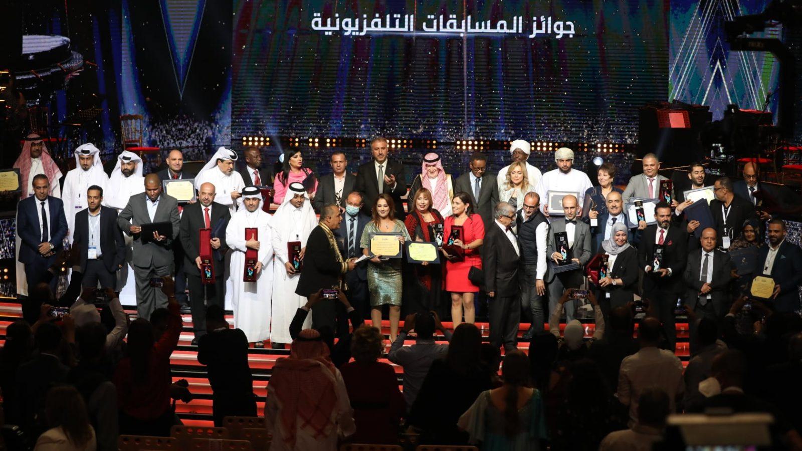 جوائز بالجملة لتونس في اختتام المهرجان العربي للإذاعة والتلفزيون
