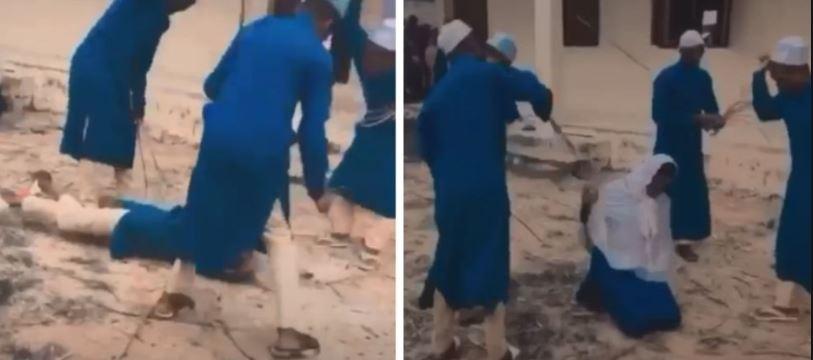 فيديو جلد تلاميذ بمدرسة قرآنية يثر الجدل