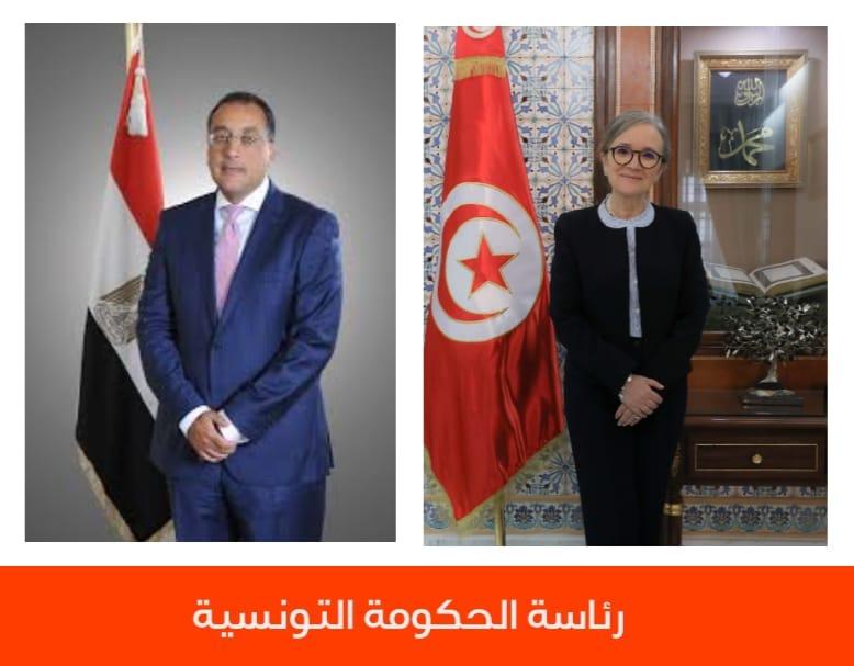 رئيس مجلس الوزراء المصري يهنئ رئيسة الحكومة نجلاء بودن