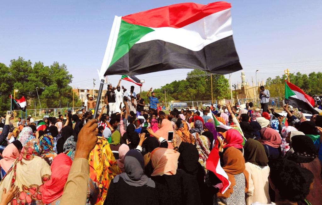 السودان/ تواصل الاحتجاجات ودعوات للعصيان المدني